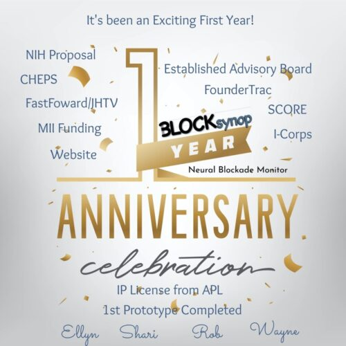 First Year Anni BLOCK